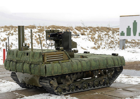 Russian Battle Robots near Testing for Military Use | Military-Stuff | Scoop.it