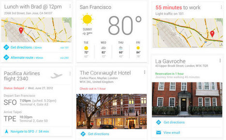 Google Now, la rivoluzione del turismo online è solo all'inizio | The Brand Strategist for Hotels | Scoop.it