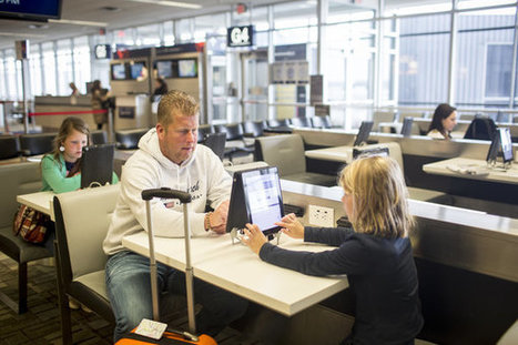 A Touch Screen to Ease Airport Stress | Schiphol | Scoop.it
