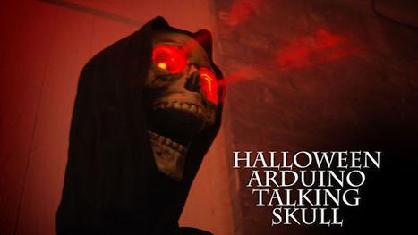 Talking Arduino Halloween Skeleton   Arduino, Netduino, Rasperry Pi!   Scoop.it