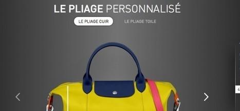 Longchamp implante des tablettes en boutique pour personnaliser ses sacs   FASHION & TECHNOLOGY   Scoop.it