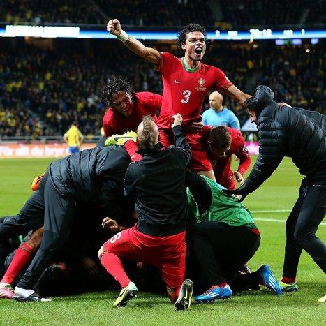 Ronaldo Hat-Trick Sends Announcer into a Frenzy | SportonRadio | Scoop.it