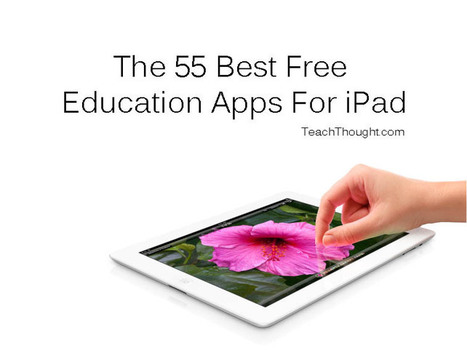 Comment on The 55 Best Free Education Apps For iPad by The 55 Best Free Education Apps For iPad | Info... | Tools for Teachers | Scoop.it