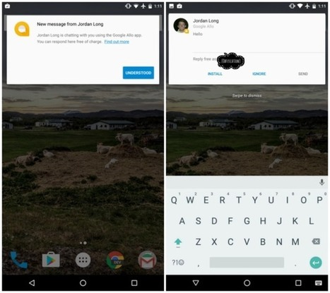 App Preview Messaging, le projet d'une messagerie universelle de Google - FrAndroid | Applications & Co | Scoop.it