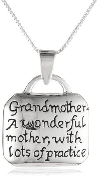 Grandmother Quote Necklace | Valentine Gifts for Grandma | Scoop.it