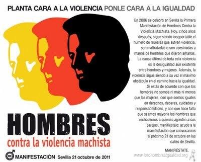 Planta cara a la violencia - Ponle cara a la Igualdad - Sevilla, 21 de octubre de 2011 | Cuidando... | Scoop.it