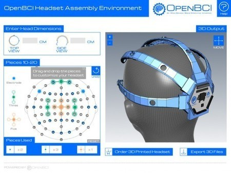 3D-printed EEG headset from OpenBCI is customizable and open-source | Innovation in healthcare, medicine and life sciences | Scoop.it