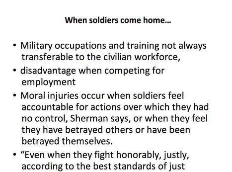 When Soldiers Come Home | Access To Housing | Scoop.it