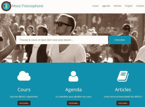 Un moteur de recherche de MOOC francophones | Time to Learn | Scoop.it