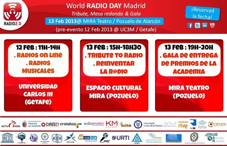 El Día Mundial de la Radio planteará el futuro del medio #13F @ Madrid | OCENDI | Radio 2.0 (Esp) | Scoop.it