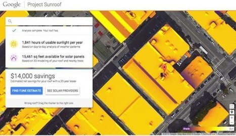 Google Project Sunroof te ayuda a instalar tus placas solares | Educacion, ecologia y TIC | Scoop.it
