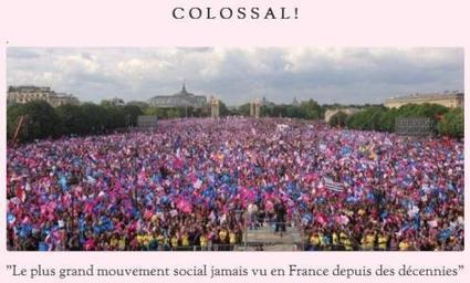 COLOSSAL : le +grand mvt sociétal jamais vu en France, pour défendre la #Famille | Un cancer létal | Scoop.it