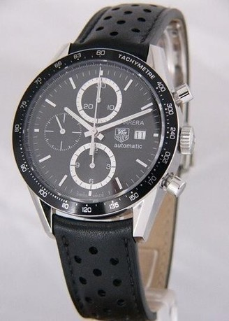 TAG Heuer Carrera Tachymeter Automatic Watch CV2010.FC6205 Review | Cheap Replica Tag Heuer Watches | Scoop.it