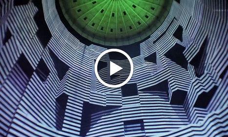 Une projection lumineuse en mapping 3D sublime l'intérieur d'un gigantesque réservoir en Allemagne | pour thp | Scoop.it
