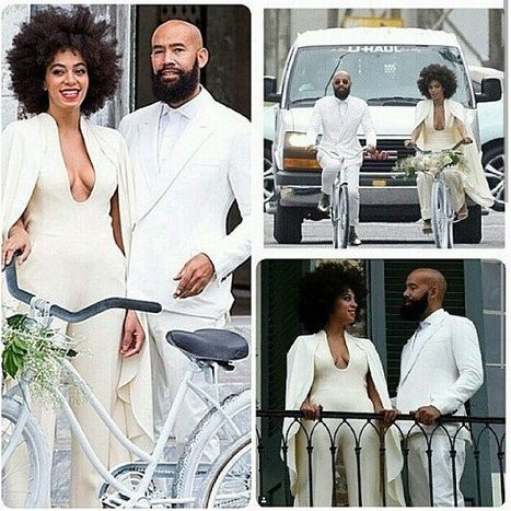 SIs Knowles riding to the chapel - bridal  creativity  redefined and the  #bridaloufit  just rocks! | Black Fashion Designers | Scoop.it