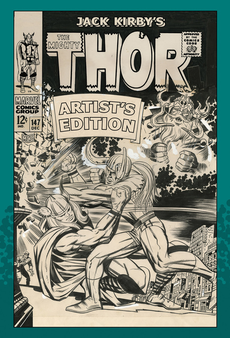 "Bronze Age Babies: BAB Book Review: Jack Kirby's Thor Artist Edition | Jack ""King"" Kirby 
