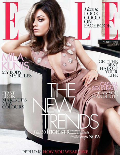 Mila Kunis Looks Stunning In Dior On The Cover Of August ELLE UK (PHOTOS ... - Global Grind | AMAZING WORLD IN PICTURES | Scoop.it