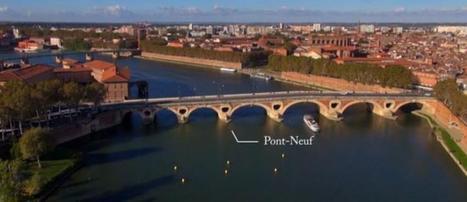 Toulouse vue du ciel grâce à Sky-Shoot (vidéo) | 100% aerien | Scoop.it