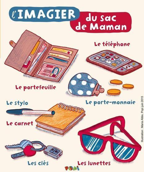 Le sac de maman | FLE enfants | Scoop.it
