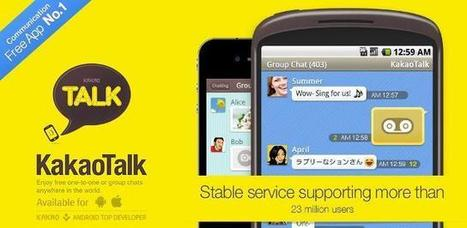 KakaoTalk Messenger | Hi-Techs | Ultimate Technology Info and Reviews | Facebook Android-Based Operating System | Scoop.it