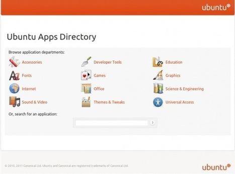 L'Ubuntu Apps Directory est enligne | Redes Locales y Servicios en Red | Scoop.it
