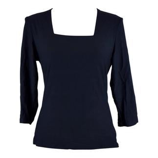 Black Square Neck 3/4 Sleeve Top | Online Shopping | BeSaz Boutique | Nigeria | Ghana | Besaz Boutique | Scoop.it
