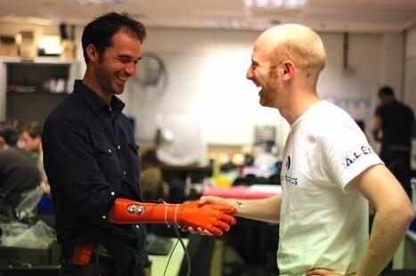 3D Printed Bionic Hand Wins Dyson Award   Chair et Métal - L'Humanité augmentée   Scoop.it