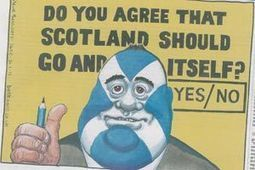 Fury at 'racist' independence jibe cartoon | YES for an Independent Scotland | Scoop.it