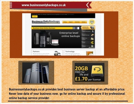 Online backup for business | online backup | Scoop.it