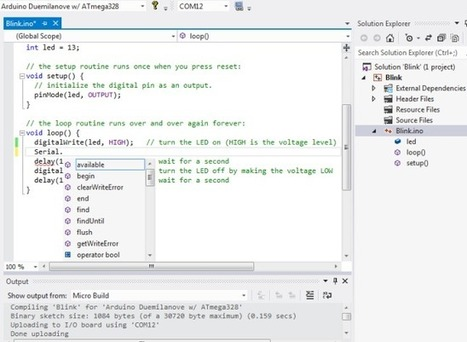 #VS2015 – #Arduino IDE for Visual Studio 2015 #VisualMicro   El Bruno   Raspberry Pi   Scoop.it