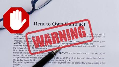 Caution: Why Rent-to-Own Is Often Too Good to Be True | itsyourbiz | Scoop.it