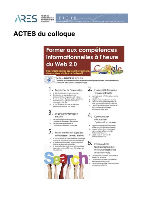 Former aux compétences informationnelles à l'heure du web 2.0 et des discovery tools | Library & Information Science | Scoop.it
