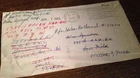 La misteriosa carta de amor de un soldado de la guerra abierta 70 años más tarde | Segunda Guerra Mundial Rebeca Mosteiro | Scoop.it