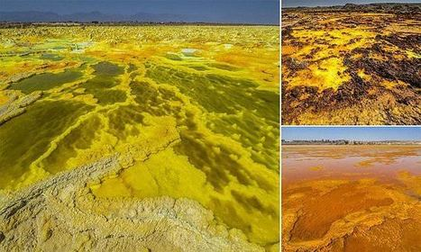 Photographs Show Alien-Like Landscape At Dallol Volcano In Ethiopia | Everything from Social Media to F1 to Photography to Anything Interesting | Scoop.it