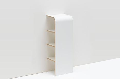 Crush | L'étagère design de Tojo, idéale pour les petits espaces ! | décoration & déco | Scoop.it