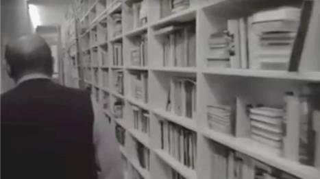 Une vidéo extraordinaire d'Umberto Eco arpentant sa spectaculaire bibliothèque | BiblioLivre | Scoop.it