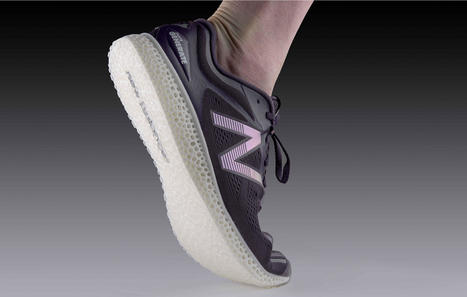 New Balance Wins Race for 3D Printed Running Shoe | Futuristic Technologies | Scoop.it