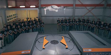Airobotics dévoile son lanceur de drones autonome | Une nouvelle civilisation de Robots | Scoop.it