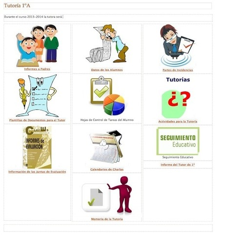 Un Google Site para Tutores (II)   Profesores TIC   Scoop.it