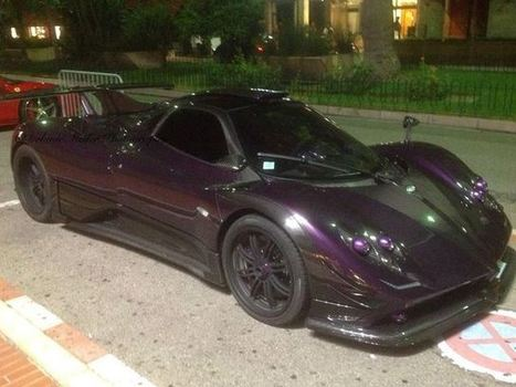 Lewis Hamilton's Pagani Zonda Spotted In Monaco - CarBuzz - Car News and Reviews | Luxury Cars | Scoop.it