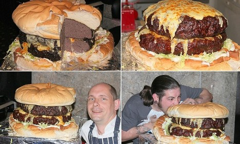 Hotel chefs make UK's biggest burger that weighs THREE STONE | Easy Travelers | Scoop.it