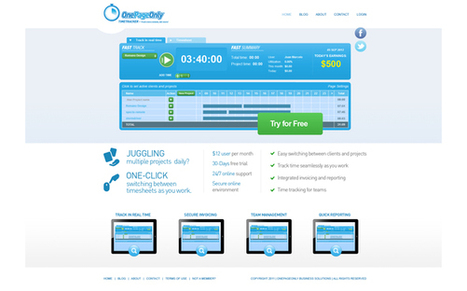 Tech Offer; OnePageOnly - InnovaGeek | Shared Innovations | Scoop.it