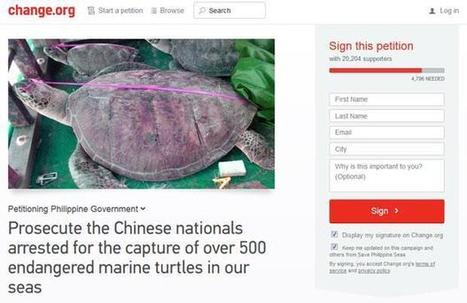 Online petition vs Chinese poachers now has over 20,000 signatories | Wildlife Trafficking: Who Does it? Allows it? | Scoop.it