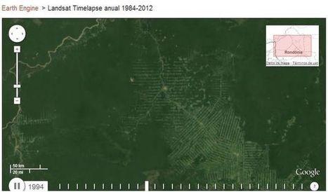 Google nos muestra los cambios del planeta en los últimos 28 años.- | banqueteria | Scoop.it