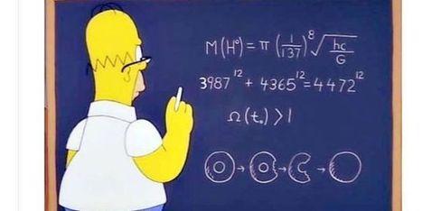 Boson de Higgs, théorème de Fermat, Big Bang... les étranges découvertes de Homer Simpson   Merveilles - Marvels   Scoop.it