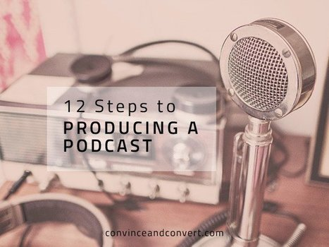 12 Steps to Producing a Podcast | Online radio & podcasting | Scoop.it