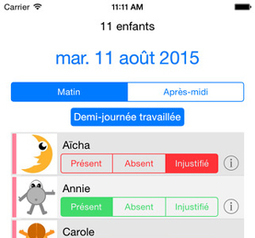 Appel, une application pour suivre les absences | Courants technos | Scoop.it