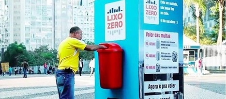 Coca Cola Brésil : un coca cola en échange de déchets | streetmarketing | Scoop.it