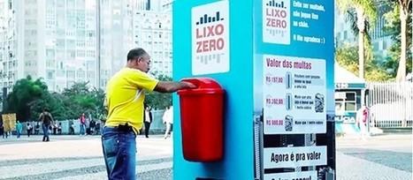 Coca Cola Brésil : un coca cola en échange de déchets | streetmarketing | Scoop.it