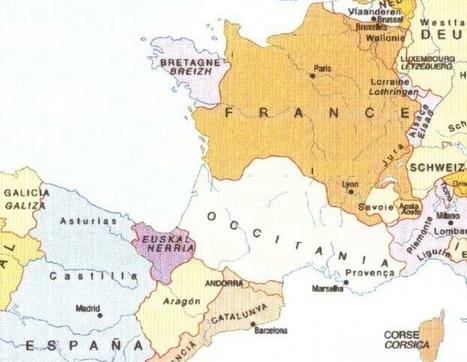 La carte interdite ou la France en 9 régions ethniques | Nos Racines | Scoop.it